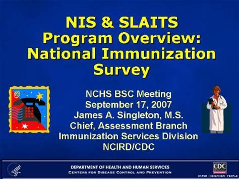 section 317 immunization program about nchs bsc presentations nis overview