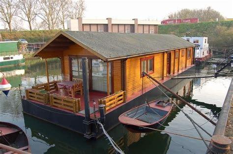 woonboot te koop earnewald woonark stalen casco mitula woningen