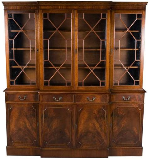 Bookcase With Locking Doors 17 Best Images About Period Antique Georgian Furnishings 1714 1811 On Auction