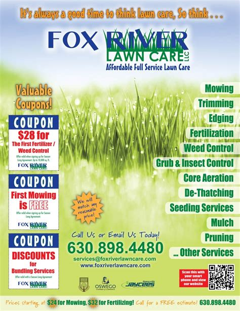 lawn care advertising flyers beautiful lawn care advertising flyers