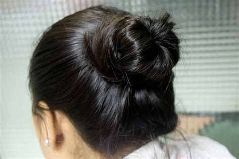 professional hairstyles buns how to make a professional looking bun 12 steps with