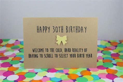 Happy 30th Birthday Card Funny 30th Birthday Card Happy 30th From Bettieconfetti