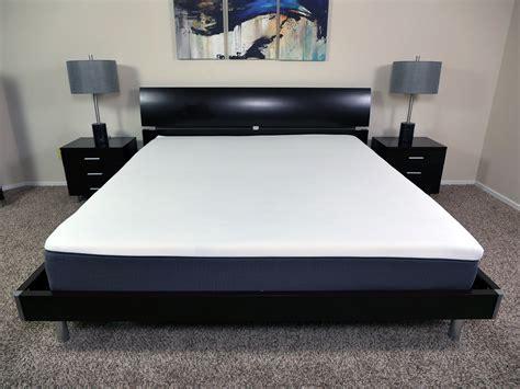 caesar size bed emma mattress review sleepopolis uk