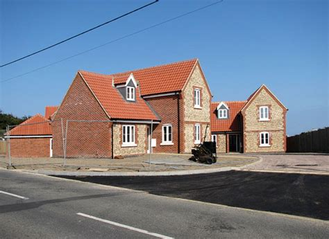 new housing developments new housing development in gunner close 169 evelyn simak geograph britain and ireland