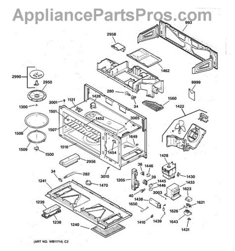 ge microwave parts diagram ge wb49x10097 cooking tray appliancepartspros