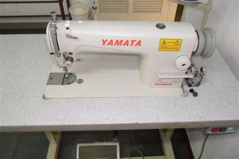 Mesin Jahit Yamata Fy 8700 m 225 quina de costura industrial reta yamata fy8700