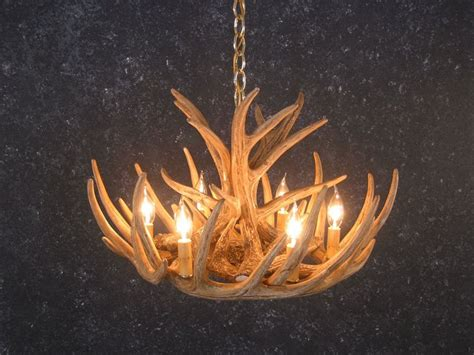 Whitetail Antler Chandelier 6 Light Whitetail Antler Cascade Chandelier Rustic Furniture Mall By Timber Creek