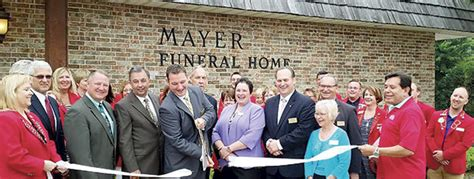 mayer celebrates 100 years daily herald