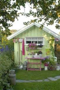 Shed Idea by 10 Cool Garden Potting Sheds Shelterness