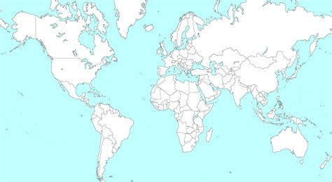 world map countries large blank world map with countries large blank world map world playroom ideas