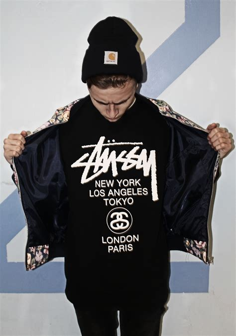 where can i find supreme clothing stussy brand clothing fashion black