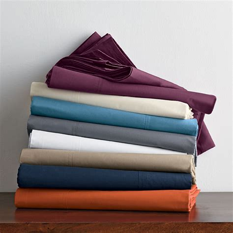 supima cotton percale sheets 400 thread count percale deep sheets the company store