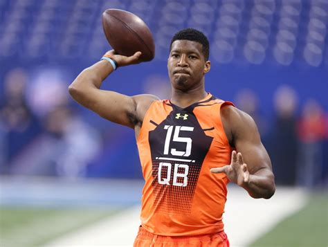 jameis winston bench press nfl combine day 4 jameis winston stands out among qbs