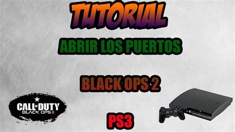 tutorial abrir nat ps3 como tener nat abierta en black ops 2 ps3 tutorial