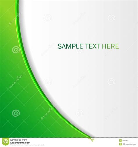 green brochure layout vector abstract green background brochure for your design