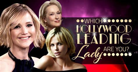 hollywood leading lady   brainfall
