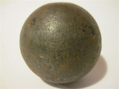 cannon ball civil war cannon ball collectors weekly
