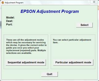 reset l355 adjustment program support printers how to reset the epson stylus photo r360