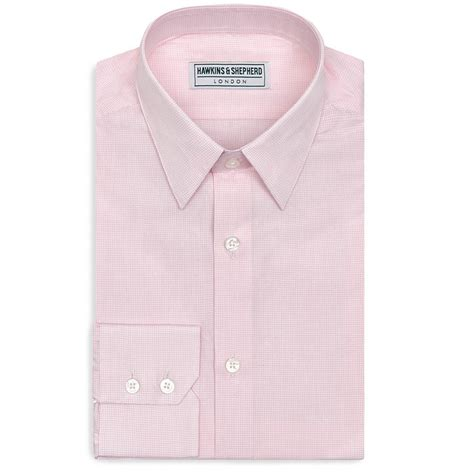 Handmade Shirts Uk - hawkins and shepherd pin collar shirts the shirt store