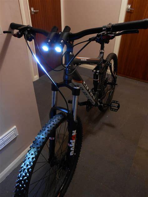 headlights and lights diy mountain bike headlight diy do it your self