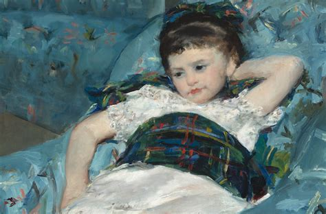 mary cassatt little girl in a blue armchair cassatt little girl in a blue armchair art history