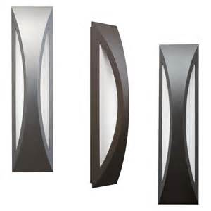 modern outdoor light fixtures kichler 49437 cesya modern 24 quot led exterior wall