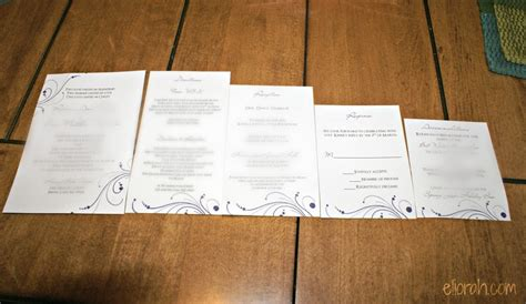 Templates For Wedding Invitation Invitation Inserts Templates