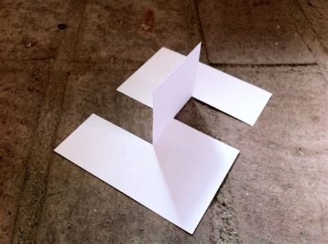 Folding Paper Tricks - can you solve this paper puzzle neatorama