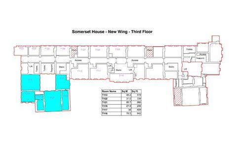 somerset floor plan new wing somerset house