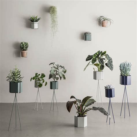 Wonderful Walls At Ferm Living by Ferm Living Wall Plant Holder And Planter Black
