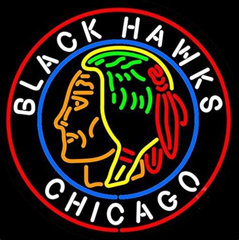 chicago blackhawks neon light chicago blackhawks neon light price compare