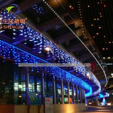 factory wholesale christmas outdoor decoration led falling