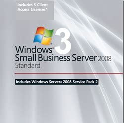 windows sbs console small business server serveurs windows