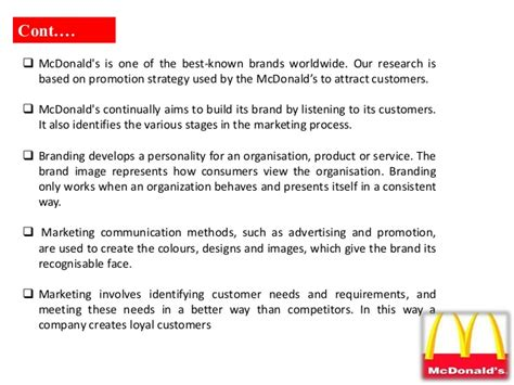 layout strategy for mcdonalds mcdonalds layout strategy research on promotional