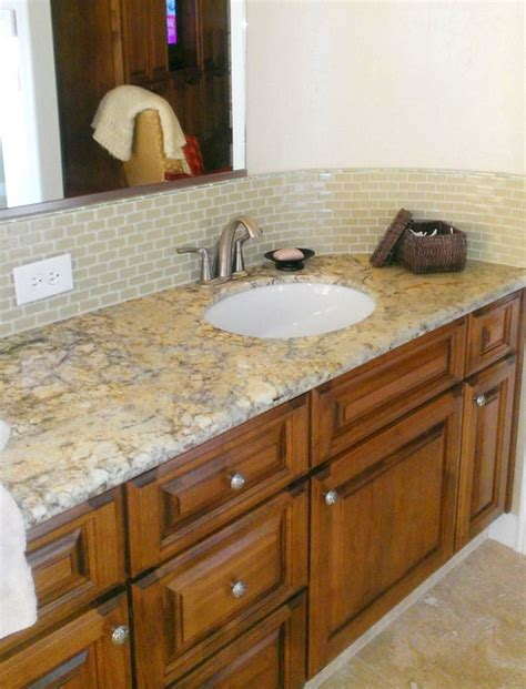 How To Put Up Backsplash In Bathroom by Glass Tile Backsplashes By Subwaytileoutlet Traditional