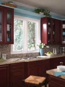 ideas for kitchen windows kitchen window treatment ideas kitchen a