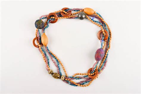 Handmade Beaded Jewellery Ideas - madeheart gt handmade beaded necklace bead necklace