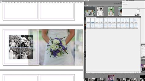 q a how to create a wedding album in indesign using