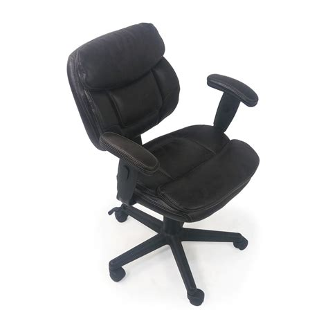 plush office chair 86 plush faux leather office chair chairs