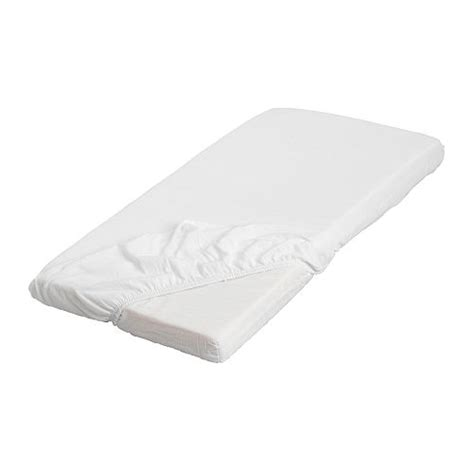 len ikea len fitted sheet white ikea
