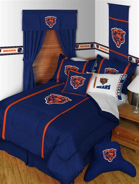 chicago bears bedding chicago bears mvp comforter