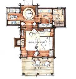 Rustic Cabin Plans Floor Plans by Cozy Cabin Floor Plans You Can Use To Make Your Getaway