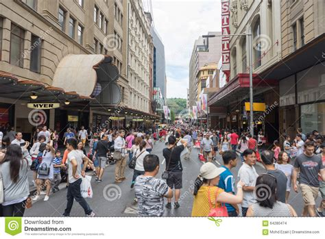 sydney australia december 26 2015 crowd of people at