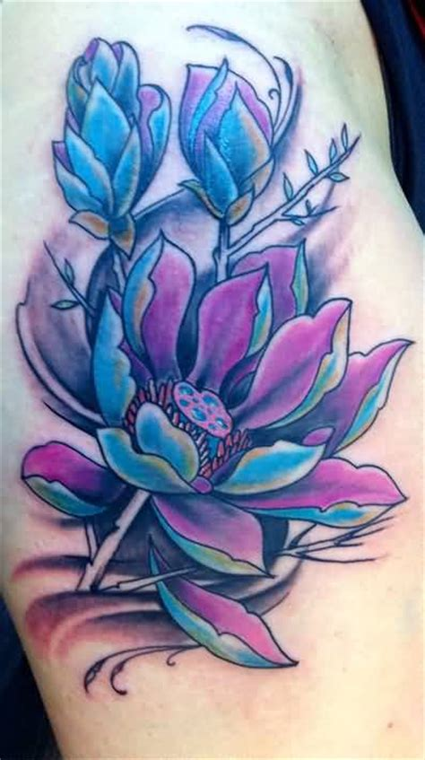 purple lotus tattoo lotus ideas and lotus designs page 45