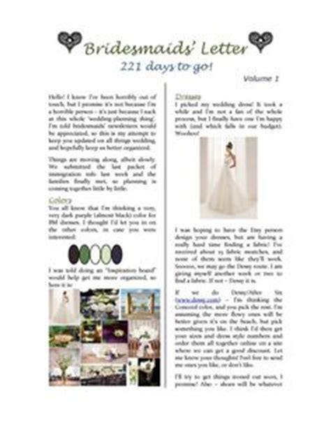 wedding newsletter template the world s catalog of ideas