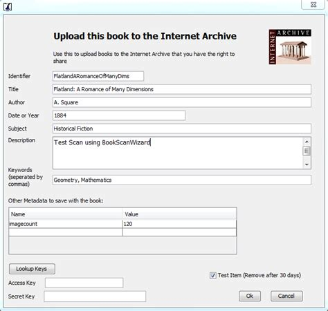 blog archives scanprogram book scan wizard software now supports internet archive