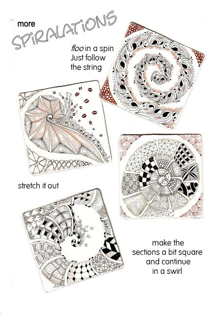 how to do bravo on doodle fit shelly beauch a zentangle spiral guide