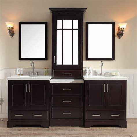 ariel bath m085d esp stafford 85 double sink vanity set in