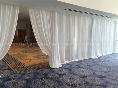 draping fabric on walls elegant event lighting weekend in review june 28 29