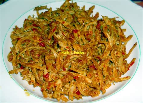 karins recipe october